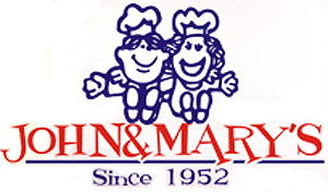 John and Mary's logo